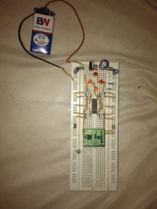 Accelerometer Controlled robot using 8051 microcontroller - Vivek Gupta